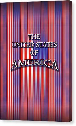 U S A 1 Canvas Print