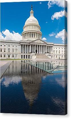 D.c. Canvas Print - U S Capitol East Front by Steve Gadomski
