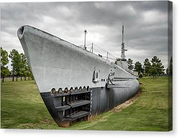 Canvas Print featuring the photograph U. S. S. Batfish by James Barber