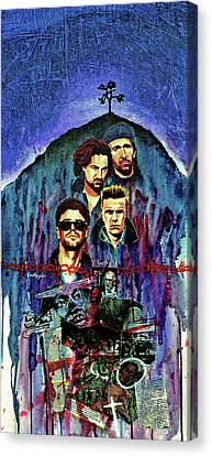 U2 Canvas Print by Ken Meyer jr