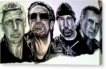 U2 Canvas Print