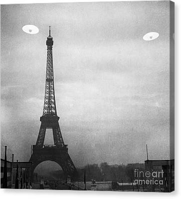 Ufo: Paris Canvas Print by Granger