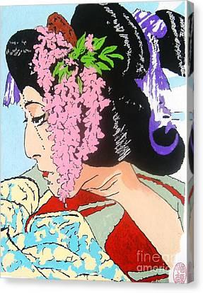 Ukiyo Sekai Ichi  Canvas Print by Roberto Prusso