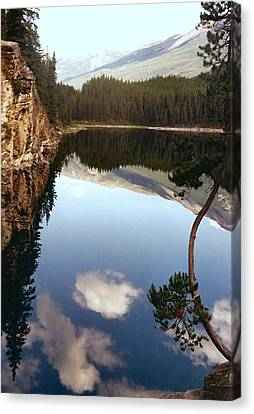 Ultimate Reflection Canvas Print by Shirley Sirois