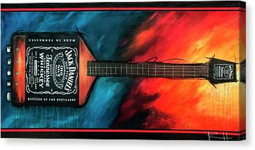 Ultra Bass Canvas Print by Sean Parnell