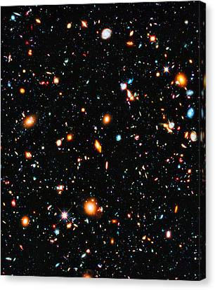Hubble Extreme Deep Field Canvas Print