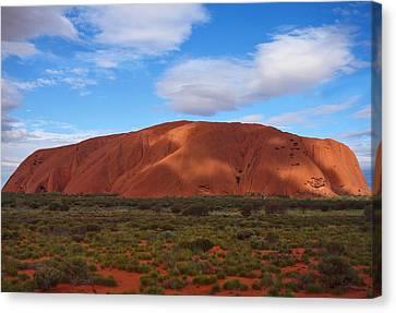 Uluru Canvas Print by Pamela Kelly Phillips