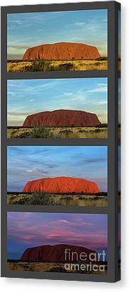 Uluru Sunset Canvas Print