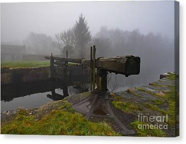 Ulverston Canal Canvas Print