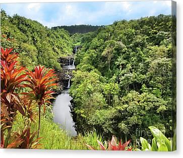 Canvas Print - Umauma Falls by Kristine Merc