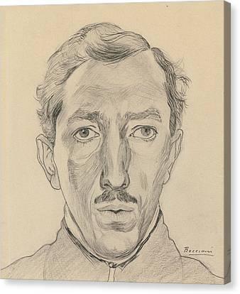 Boccioni Canvas Print - Umberto Boccioni by Umberto Boccioni