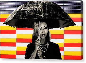 Umbrella  Canvas Print by Britten Adams