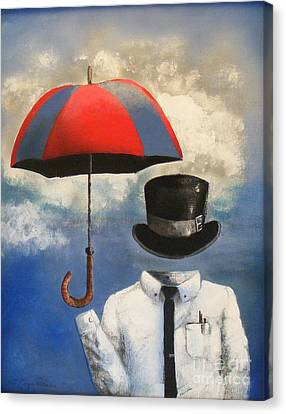 Umbrella Canvas Print by Crispin  Delgado