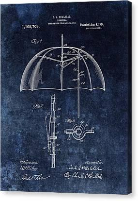 Umbrella Patent Canvas Print by Dan Sproul