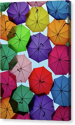 Umbrella Sky II Canvas Print