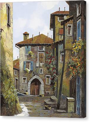 Umbria Canvas Print by Guido Borelli