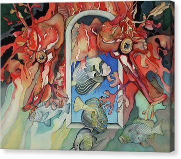 Un Autre Monde Canvas Print by Liduine Bekman