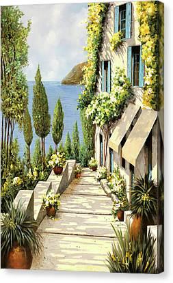 Un Canarino Canvas Print by Guido Borelli