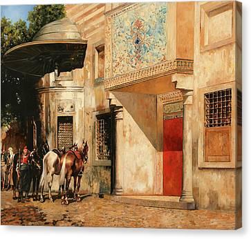 Tre Cavalli Canvas Print