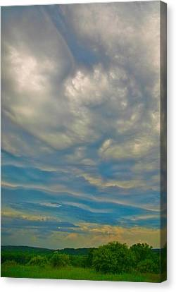 Un-settled Canvas Print by Robert Pearson