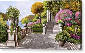 Un'altra Scalinata Canvas Print by Guido Borelli