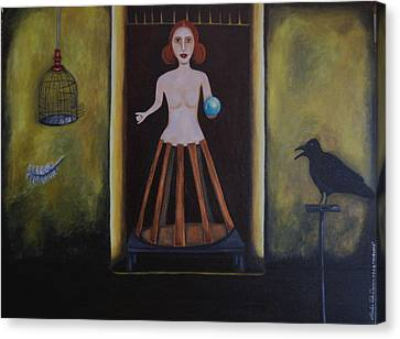 Uncaged Canvas Print by Leah Saulnier The Painting Maniac