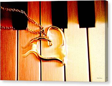 Unchained Melody Canvas Print by Linda Sannuti