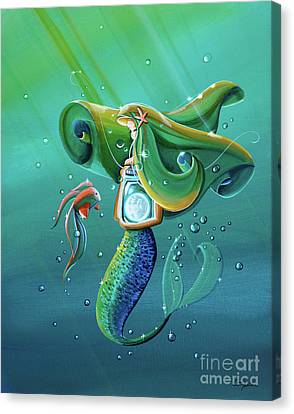 Seafarer Canvas Print - Uncharted Waters by Cindy Thornton