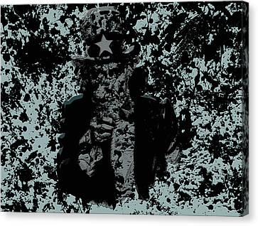 Uncle Sam 1a Canvas Print