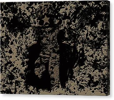Uncle Sam 1c Canvas Print