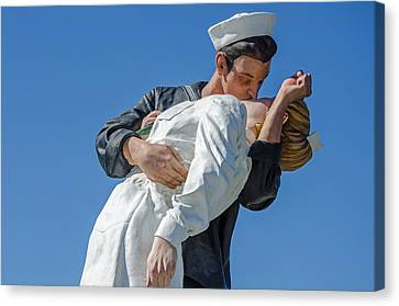 Unconditional Surrender 2 Canvas Print by Susan  McMenamin