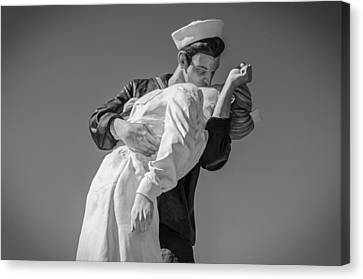 Unconditional Surrender 3 Canvas Print by Susan  McMenamin
