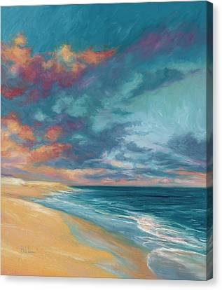 Cape Cod Scenery Canvas Print - Under A Painted Sky by Lucie Bilodeau