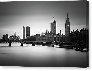 Under Construction Canvas Print by Ivo Kerssemakers