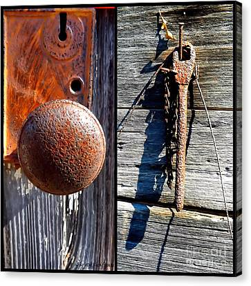 Under Lock And Key Canvas Print