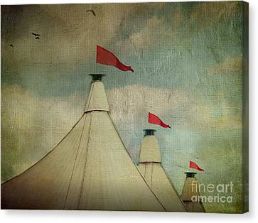Artography Canvas Print - Under The Big Top by AJ Yoder