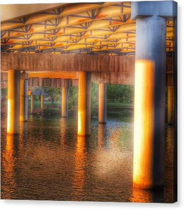 Under The Boardwalk Canvas Print by Gia Marie Houck