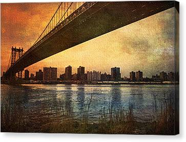 Under The Bridge Canvas Print by Svetlana Sewell