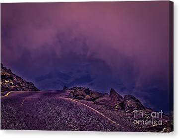 Under The Clouds 2 Canvas Print