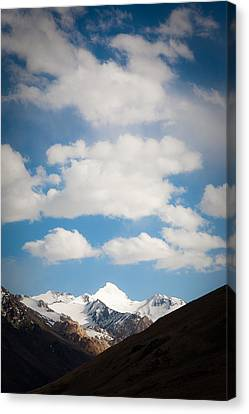 Under The Clouds Canvas Print