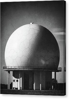 Traffic Control Canvas Print - Under The Dome by Wim Lanclus
