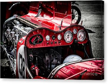 Under The Hood Canvas Print by Adrian Evans