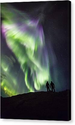 Under The Lights Canvas Print by Alex Conu