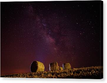 Under The Milky Way Canvas Print
