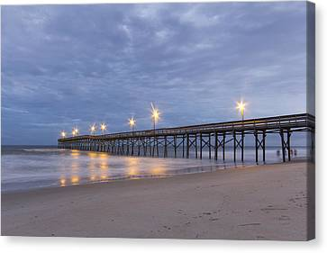 Under The Pier Canvas Print by Alan Raasch