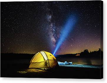 Under The Stars Canvas Print