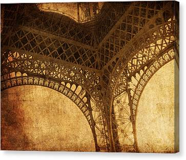 Under Tower Canvas Print by Andrew Paranavitana