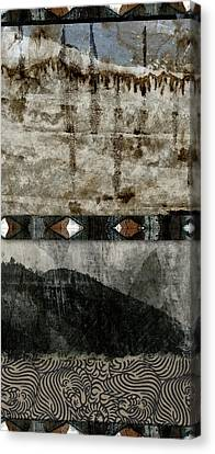 Montage Canvas Print - Undercurrents by Carol Leigh