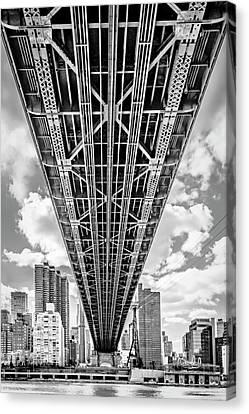 Underneath The Queensboro Bridge Canvas Print