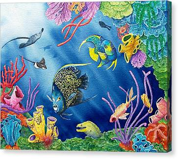 Undersea Garden Canvas Print by Gale Cochran-Smith